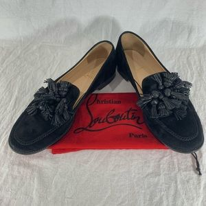 CHRISTIAN LOUBOUTIN Tasselissimo Marked 42 10US